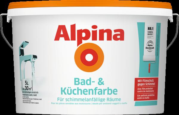 Alpina Bad und Küchenfarbe 5L