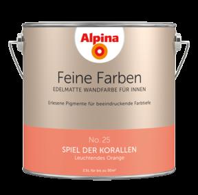 Alpina Feine Farben No.25 Spiel der Korallen 2,5L