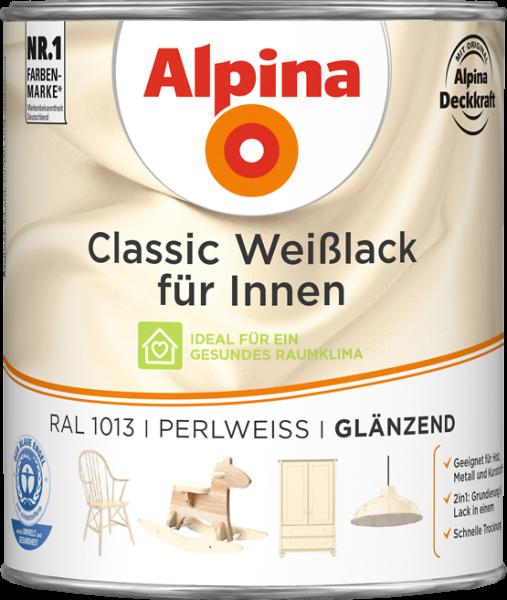 Alpina Classic Weiss Perlweiss 750ml