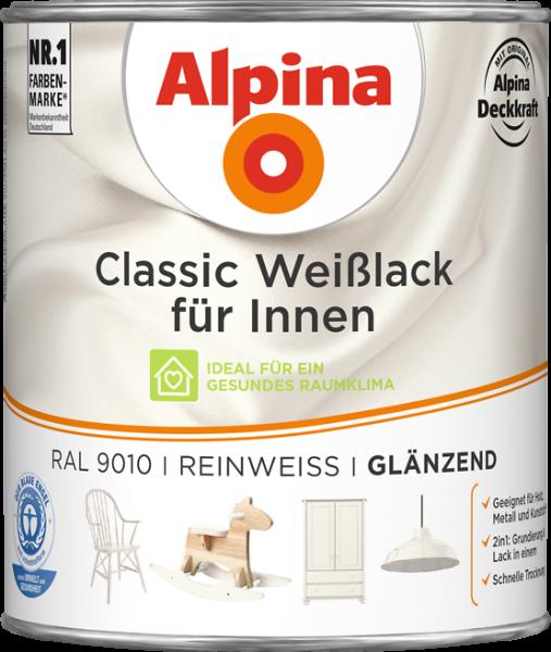 Alpina Classic Weiss Reinweiss 750ml