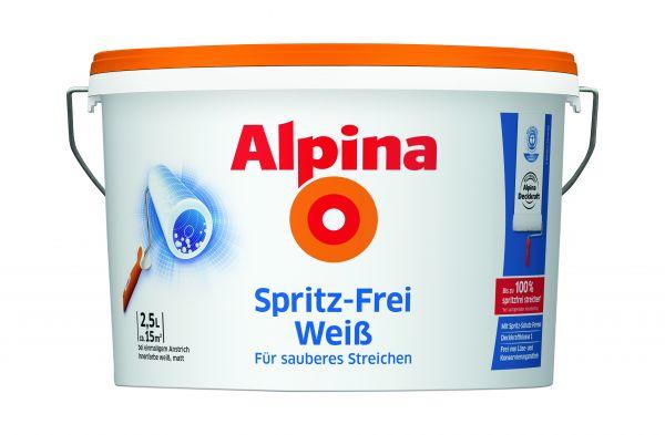 Alpina Spritz-Frei Weiss 2,5L