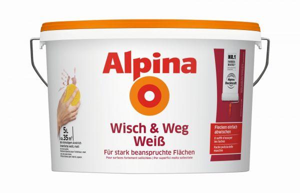Alpina Wisch und Weg Weiss 5L