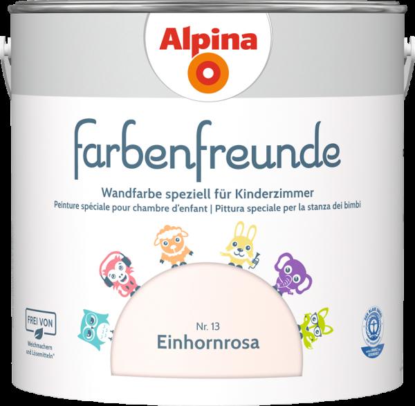 Alpina Farbenfreunde Kinderzimmer  Farbtöne:Nr.13 Einhornrosa