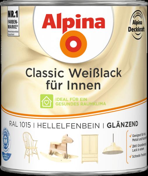 Alpina Classic Weiss Hellelfenbein 750ml