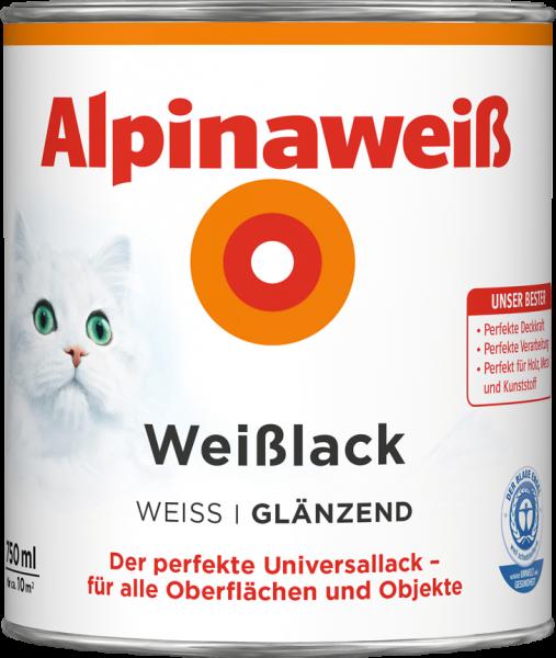 Alpina Alpinaweiss Weisslack 750ml