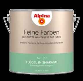 Alpina Feine Farben No.9 Flügel in Smaragd 2,5L