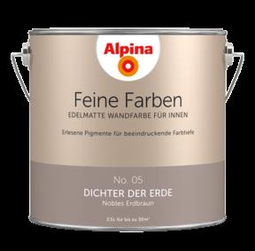 Alpina Feine Farben No.5 Dichter der Erde 2,5L