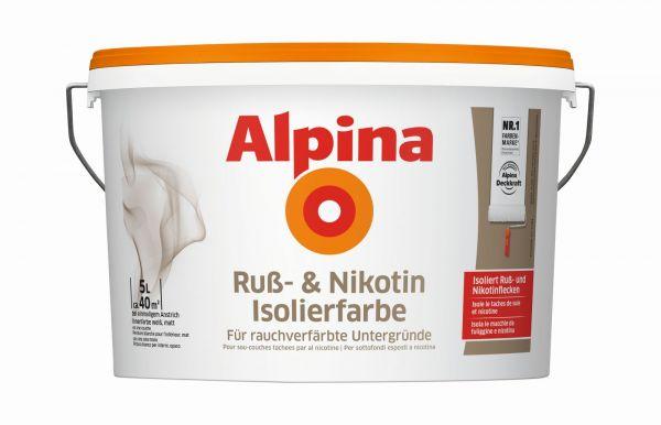 Alpina Nikotin Isolierfarbe 5L